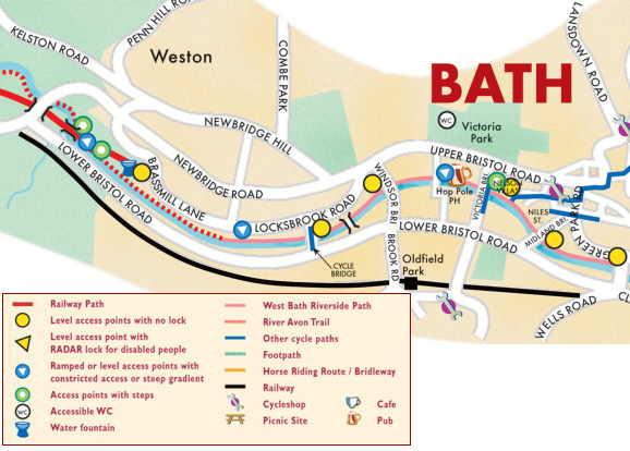 Bath Images map - bath