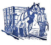 Horse and wagon - Linda Clark