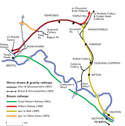 Map of the line